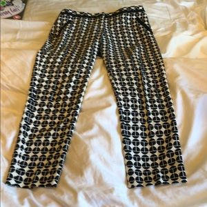 Black and white Trina Turk pants